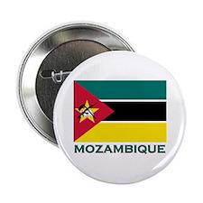 Mozambique Flag Merchandise Button