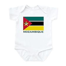 Mozambique Flag Merchandise Infant Bodysuit