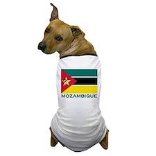Mozambique Flag Merchandise Dog T-Shirt