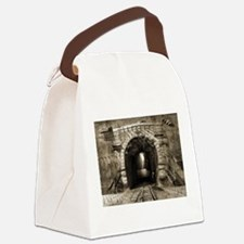 The way out or Suicidal ideation Canvas Lunch Bag