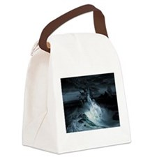 Mermaid Syndrom Canvas Lunch Bag
