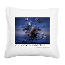 Alternative Sky-rover Square Canvas Pillow
