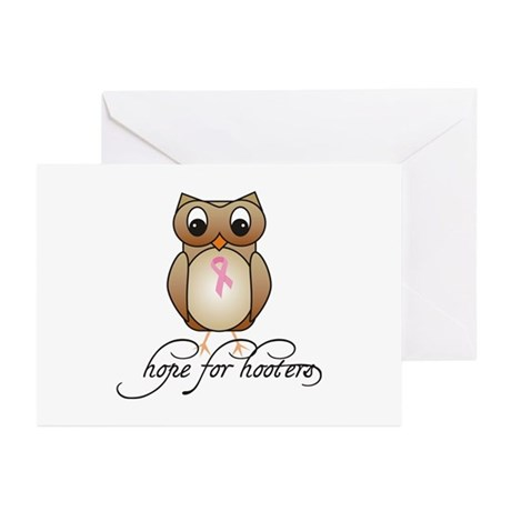 Hope for Hooters 2 Greeting Cards (Pk of 10)