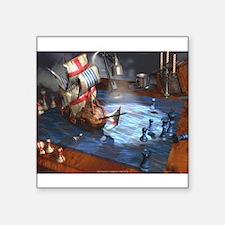 """07poster-dusk_endevours.jpg Square Sticker 3"""" x 3"""""""