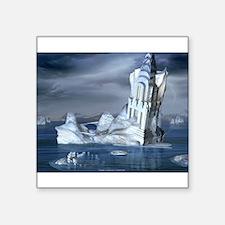 "06poster-iceberg.jpg Square Sticker 3"" x 3"""
