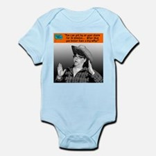 You can get by on your charm... Infant Bodysuit