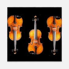 Viola / Violin Designs Queen Duvet