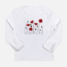 Poppies Long Sleeve Infant T-Shirt