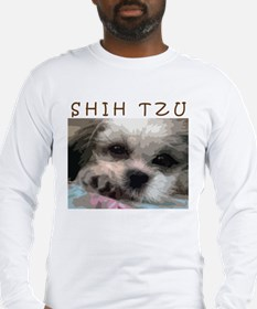 Shih Tzu Art Long Sleeve T-Shirt
