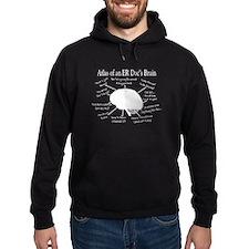 atlas of ER doc brain darks.PNG Hoodie