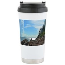 Bass Harbor lighthouse Travel Mug