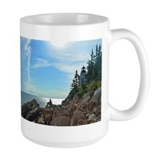 Bass Harbor lighthouse Mug