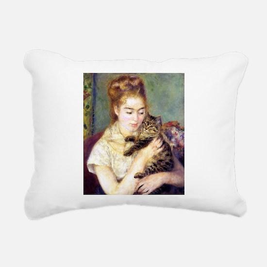 renoir Rectangular Canvas Pillow