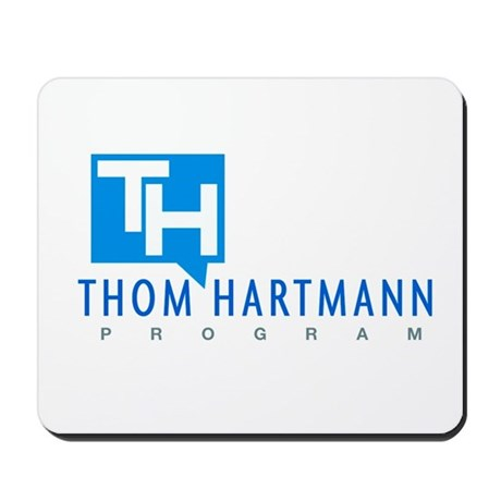 Thom Hartmann Logo Mousepad