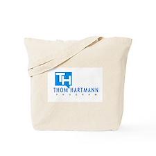Thom Hartmann Logo Tote Bag