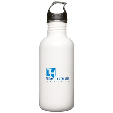 Thom Hartmann Logo Stainless Water Bottle 1.0L