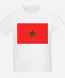Morocco Flag Picture Kids T-Shirt