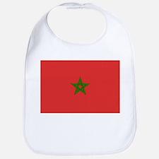 Morocco Flag Picture Bib