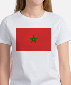Morocco Flag Picture Tee