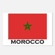 Morocco Flag Stuff Postcards (Package of 8)