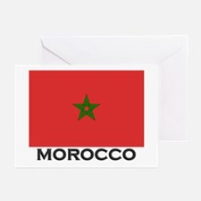 Morocco Flag Stuff Greeting Cards (Pk of 10)
