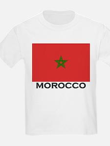 Morocco Flag Stuff Kids T-Shirt
