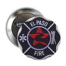 """El Paso Fire 2.25"""" Button"""