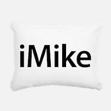 iMike Rectangular Canvas Pillow