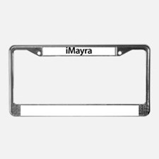 iMayra License Plate Frame