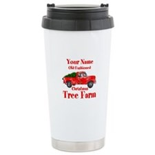 Custom Tree Farm Travel Mug