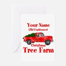 Custom Tree Farm Greeting Cards (Pk of 20)