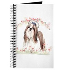 Shih Tzu Flowers Journal
