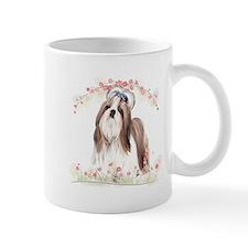 Shih Tzu Flowers Mug