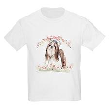 Shih Tzu Flowers T-Shirt