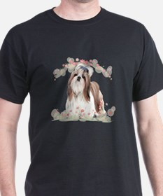 Shih Tzu Flowers T-Shirt