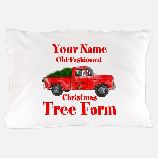 Custom Tree Farm Pillow Case