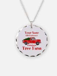 Custom Tree Farm Necklace