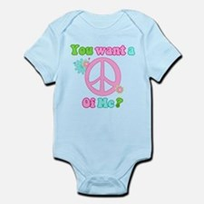 You Want A Peace of Me? Infant Bodysuit