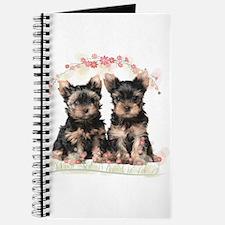 Yorkie Flowers Journal