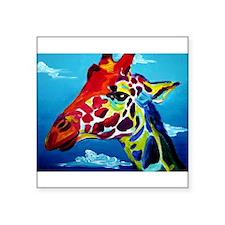 Giraffe Rectangle Sticker