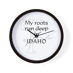 Idaho Roots Wall Clock