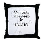 Idaho Roots Throw Pillow