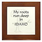 Idaho Roots Framed Tile