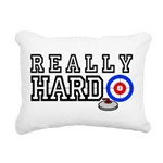 Really-Hard3.jpg Rectangular Canvas Pillow