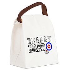 Really-Hard3.jpg Canvas Lunch Bag