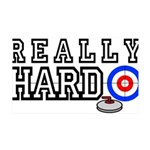 Really-Hard3.jpg 35x21 Wall Decal