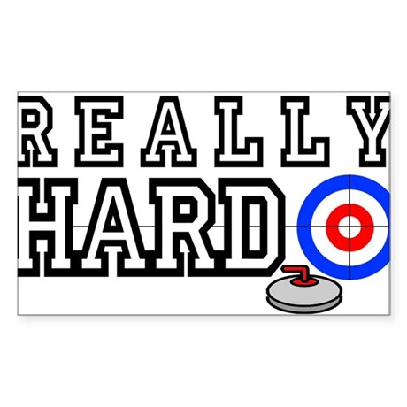 Really-Hard3.jpg Sticker (Rectangle)