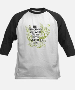 Be the Change - Green - Light Tee