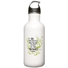 Be the Change - Green - Light Water Bottle