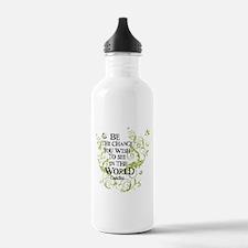 Be the Change - Green - Light Water Bottle